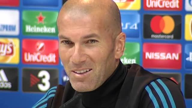 Zidane habló en rueda de prensa