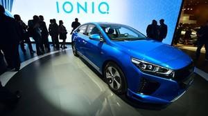 Hyundai Ioniq híbrido.