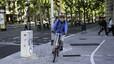 Vecino de Esplugues en bici