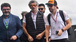 Alonso, ante su penúltima carrera en F1