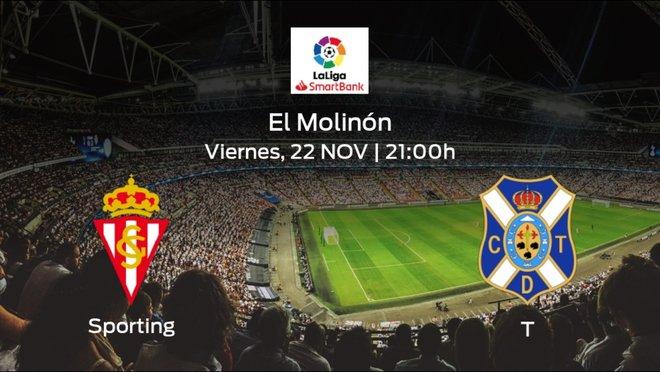 Previa del partido: el Real Sporting recibe en su feudo al Tenerife
