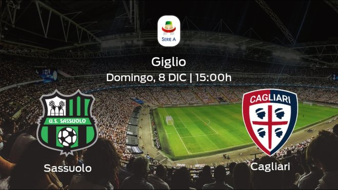 Previa del partido: el Sassuolo recibe en su feudo al Cagliari