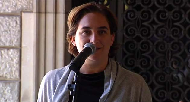 Ada Colau, sobre la posible pitada al himno en la final de Copa