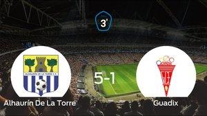 El Alhaurín De La Torre goleó en casa al Guadix (5-1)