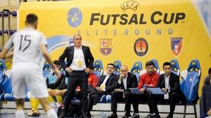 Andreu Plaza se mostró satisfecho por la puesta en escena de su equipo