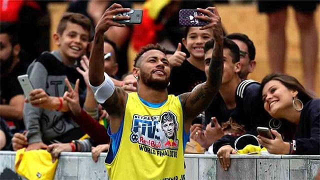 Así fue el espectáculo Neymar Jrs Five