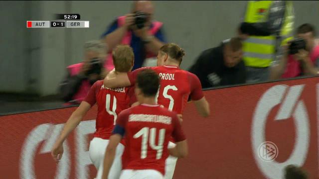 Austria ganó a una Alemania sin Ter Stegen