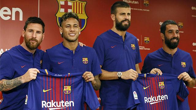 El Barcelona y Rakuten presentaron el acuerdo de patrocinio para los próximos años