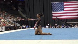 Biles es la gimnasta que más premios ha ganado de la historia de Estados Unidos