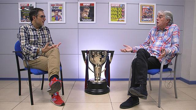 Lluís Mascaró y Siro López debatieron sobre la situación actual de Barça y Madrid en la redacción de SPORT