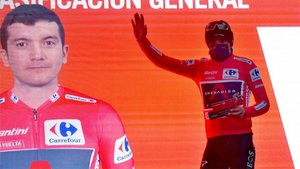 Carapaz es el nuevo líder de La Vuelta 2020