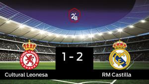 El RM Castilla derrotó a la Cultural Leonesa por 1-2
