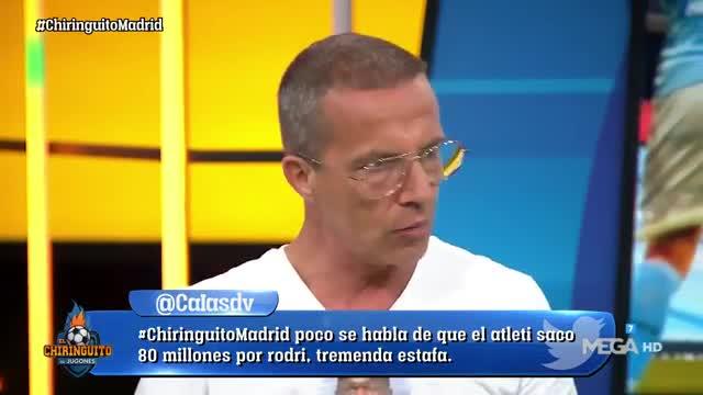 La celebración de Cristóbal Soria para la derrota del Real Madrid que enfadará a muchos