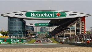 China alberga el GP de Fórmula 1 en abril