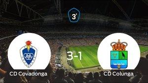 El Colunga cae derrotado frente al Covadonga en el Álvarez Rabanal (3-1)