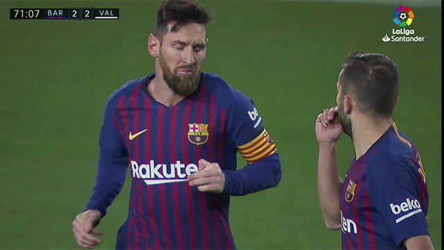 Messi included in Barca squad but Valverde will not take risks