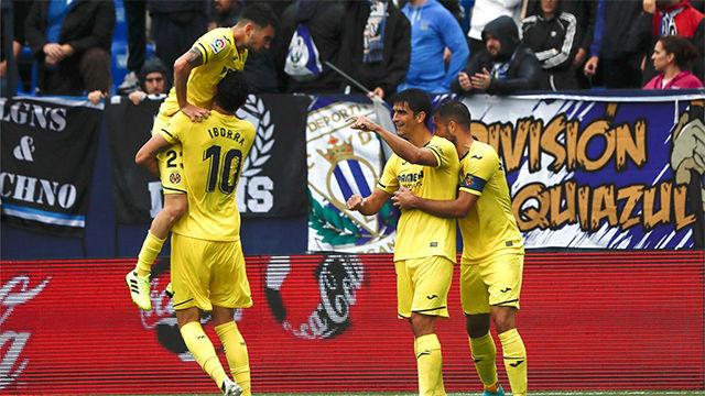Cómodo triunfo del Villarreal ante un Leganés que todavía no sabe qué es ganar