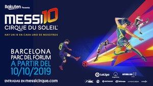 Consigue tu entrada para el Messi Cirque du Soleil en Barcelona (ES)