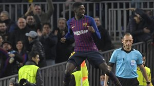 Dembélé marcó un golazo que demuestra su clase