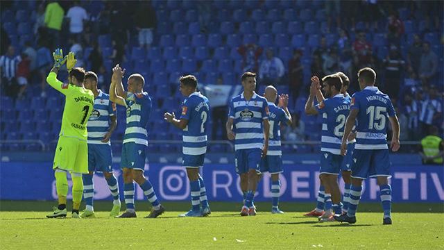 El Deportivo saca un punto de El Molinón en el minuto 94