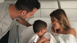 Elena Galera y Sergio Busquets felicitan a su hijo Levi por su aniversario | Diario AS