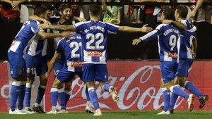 El Espanyol cuenta con tres victorias y dos empates de cara a la disputa copera