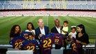 La familia Abidal ya es socia del Barça