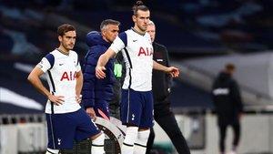 Gareth Bale disfrutó de sus primeros minutos como spur