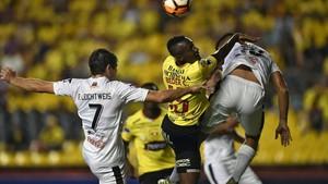 Gerenal Díaz y Barcelona empataron a cero