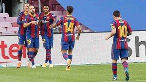 Griezmann marcó el último gol de la pretemporada del Barcelona