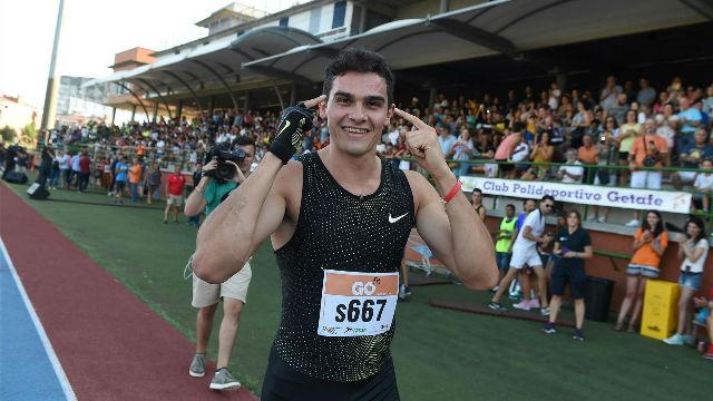 Hortelano tampoco pudo con su récord en los 200