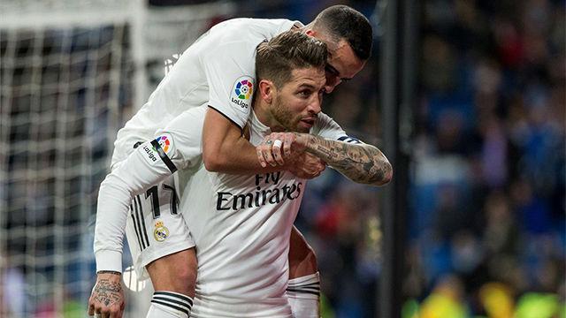 Hoy no hizo falta el VAR: Así fue el dudoso penalti que transformó Sergio Ramos