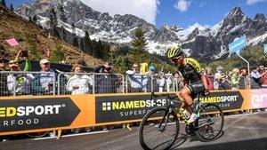 Imagen de una etapa de la pasada edición del Giro
