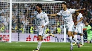 Isco y Asensio, dos de los damnificados de un Madrid en crisis