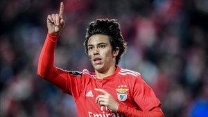 Joao Felix sigue brillando en el Benfica