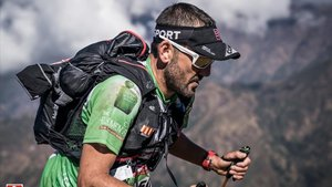 Jordi Gamito, en la Everest Trail Race