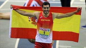 Jorge Ureña encabeza al equipo español masculino en Ucrania