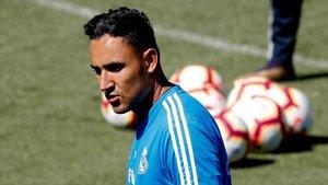 Keylor Navas tiene dos años más de contrato con el Madrid