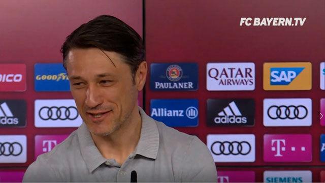 Kovac: Gnabry tiene que comer mucho para alcanzar a Robben y Ribery