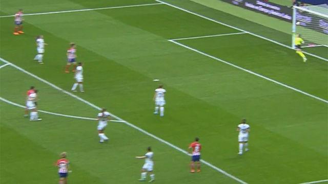 LALIGA FEMENINA   Atlético de Madrid - Madrid CFF (2-2): El golazo de Aurélie