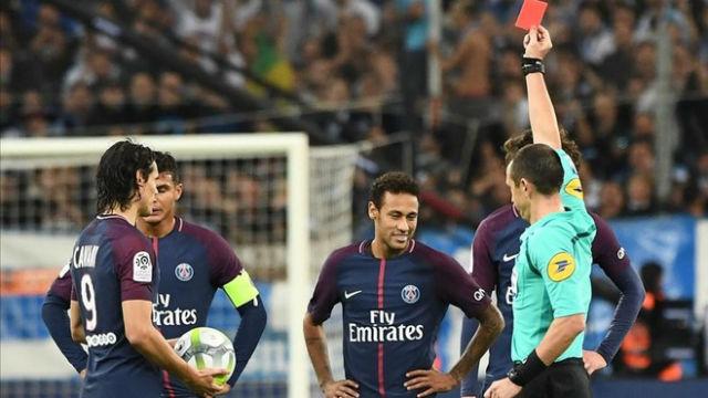 LALIGA FRANCIA | OM - PSG (2-2): Expulsión de Neymar