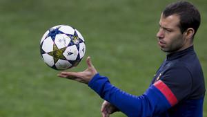 Las mejores imágenes de la etapa de Javier Mascherano en el FC Barcelona