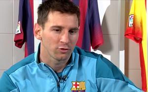 Leo Messi habló en una entrevista en Barça Fans