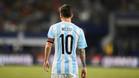 Leo Messi tras la derrota de Argentina en la final de la Copa América 2016 contra Chile