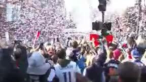 Los Patriots celebran en Boston su sexto título de la NFL