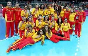 Medalla de bronce para las guerreras olímpicas del balonmano