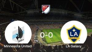 El Minnesota United jugó al LA Galaxy y ha empatado por 0-0