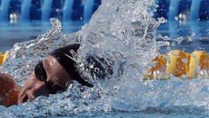 Mireia Belmonte ganó dos medallas de plata, en 400 estilos y 400 libres
