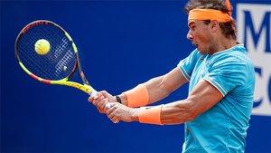 Nadal debutó este miércoles en Barcelona