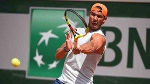 Nadal se prepara para Roland Garros